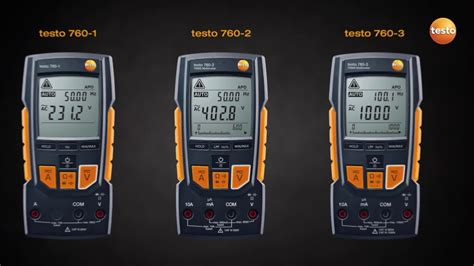 because the testo the digital multimeter testo 760 be sure testo