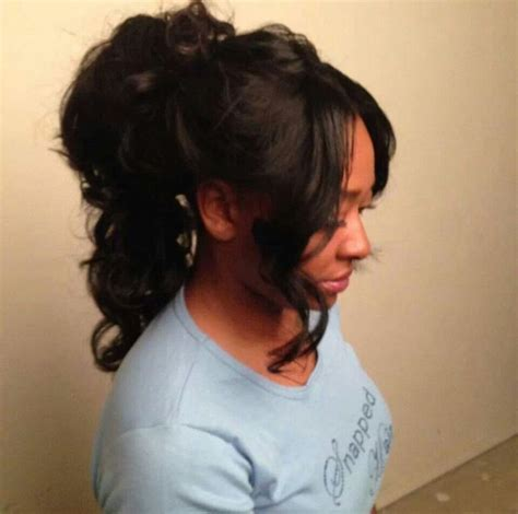 sew in ponytail hairstyles sew in high ponytail hairstyle galleries for 2016 2017