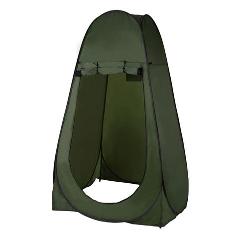 Pop Up Bathroom Tent Portable Outdoor Pop Up Tent Cing Shower Bathroom Privacy Toilet Changing Room Shelter Single