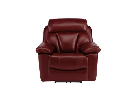electric reclining armchairs uk granger armchair with electric recliner burgundy leather