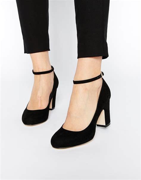 Heels Brukat Black 3 asos summer heels a block heel an ankle cruelty free shoes shoes