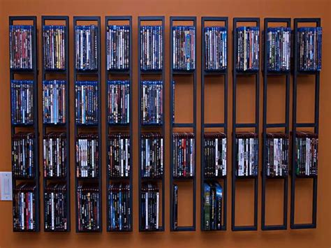 Dvd Storage Shelf by 25 Best Ideas About Dvd Storage Units On Dvd