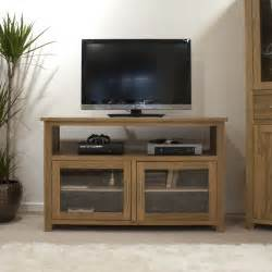 Living Room Tv Cabinet Eton Solid Oak Living Room Furniture Tv Cabinet Stand