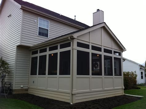 screen porch roof the design series columbus decks porches and patios by