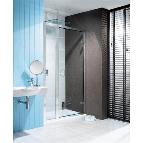 Classic Shower Door Classic Frameless Hinged Shower Door With Inline Panel Buy At Bathroom City