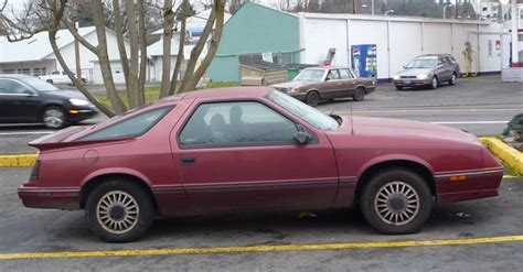 curbside classic 1986 dodge daytona with k car bonus