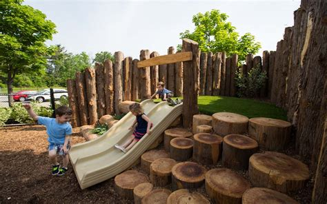 oakville natural playground  earthscape play