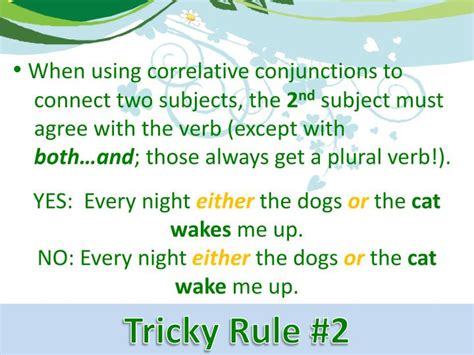 pattern of correlative conjunction ppt correlative conjunctions powerpoint presentation