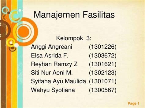 layout fasilitas manajemen operasional manajemen fasilitas