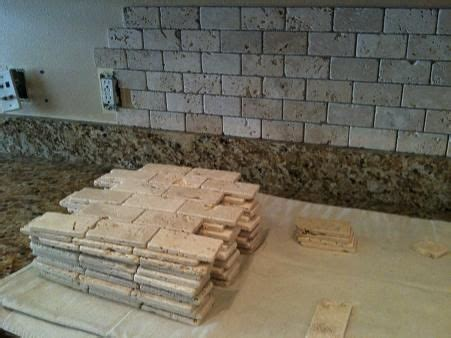 best 25 travertine backsplash ideas on brick