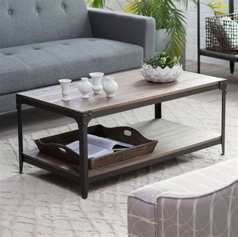 belham living trenton industrial end table best 20 industrial coffee tables ideas on
