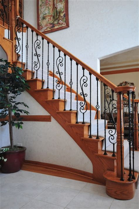 Wrought Iron Stair Balusters Wrought Iron Baluster Upgrade