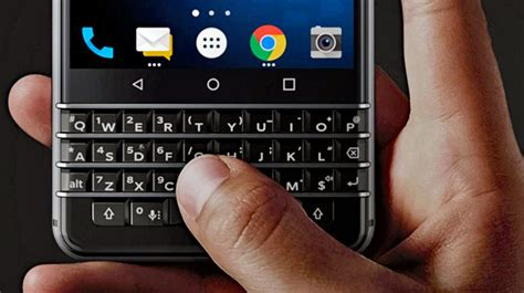 blackberry keyboard for android blackberry is back but we learned to live without the smartphone keyboard lifehacker