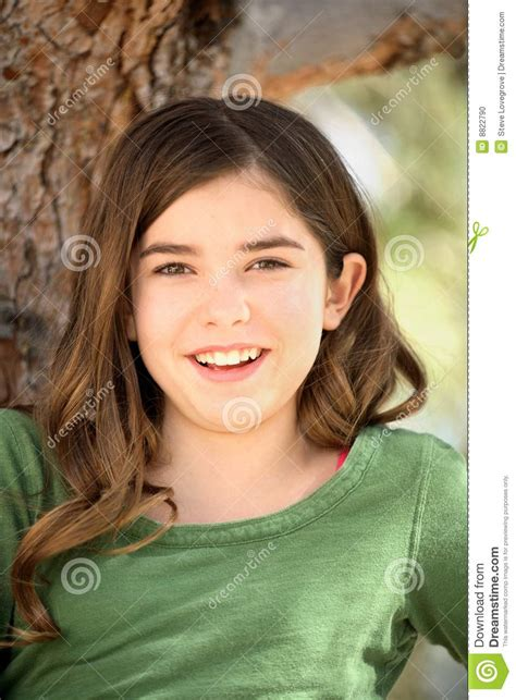 young girls portrait of young girl stock photo image 8822790