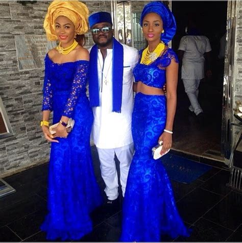 brides maid on yellow from bellanaija 17 best images about blue nigerian weddings on pinterest