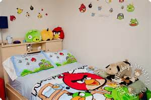 angry birds bedroom children s angry bird bedroom before after revealed