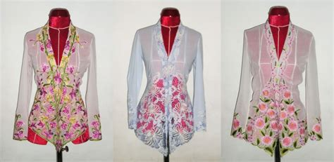 Set Kebaya Dan Sarung sejarah dan perkembangan fesyen kebaya nyonya