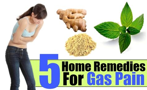 gas home remedies treatments cure