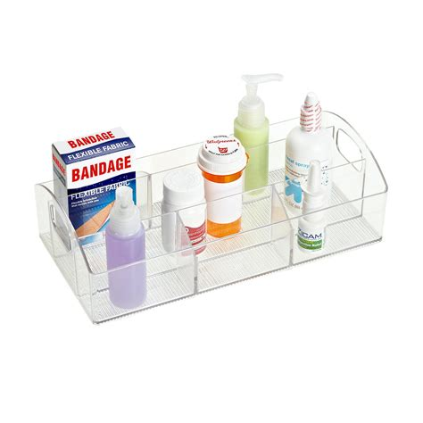 Interdesign Linus Catch All Cabinet Organizer The Bathroom Storage Containers