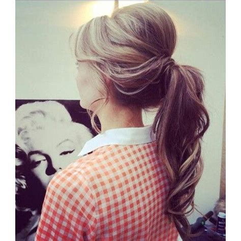 Pin Up Ponytail Hairstyles by 17 Best Ideas About 1950s Ponytail On Pin Up