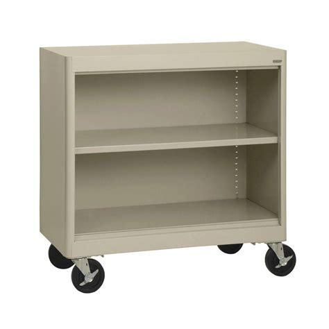 Catskill Craftsmen Bookmaster 2 Shelf Mobile Bookcase 3321 Movable Bookshelves