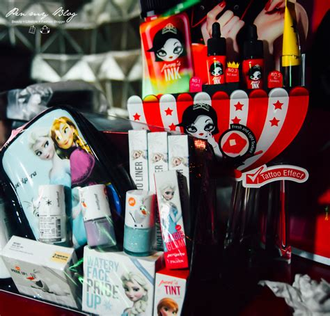 kpop themed party pen my blog peripera peri lip tint water ink review and