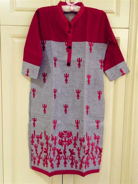 indian half sleeve kurti tunic top womens wear