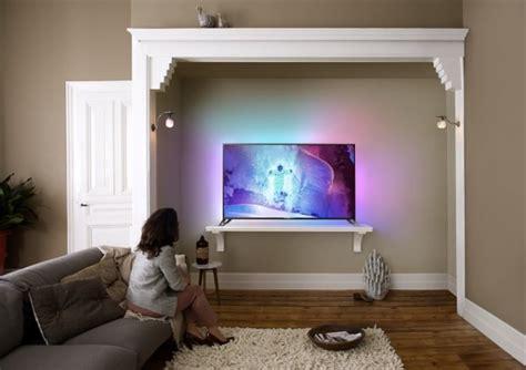 Mur Design Home Hardware by Televisore Philips Da 65 Pollici Con Android E Ambilight