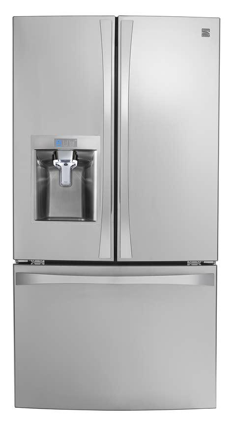 kenmore door counter depth refrigerator kenmore elite 75043 24 cu ft counter depth smart