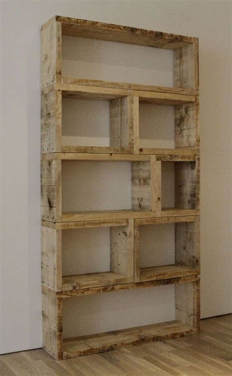 recycled wood pallet shelves for the home pinterest