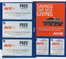 Car Rental Avis Coupons Enterprise Car Rental Discounts 2013 Autos Weblog
