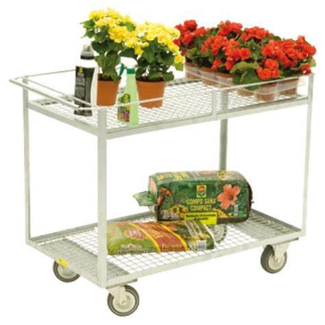 espositore fiori carrello di servizio per piante e fiori carrelli ed