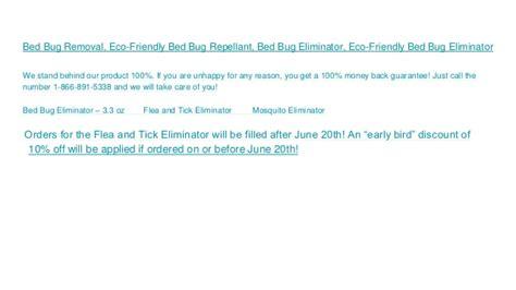 eco friendly bed bug eliminator mosquito repellent mosquito spray
