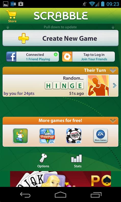 scrabble app for android ea launches free official scrabble for android