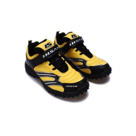 ca sports shoes price in pakistan ihsan sports yellow black speed cricket shoes with black