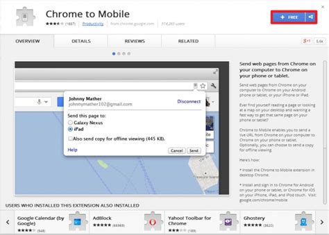 chrome mobile extensions how to send webpages from chrome to your android device