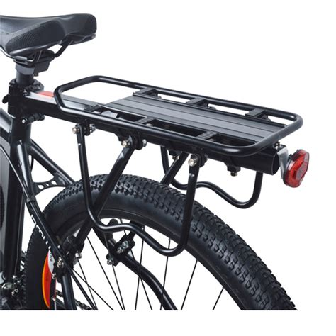Rear Bike Cargo Rack by 1 Set Universal Max Loading Capacity Bicycle Bike Rear