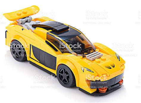 lego sports car lego yellow sports car stock photo 486972996 istock