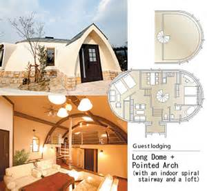case exle japan dome house