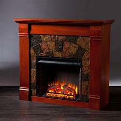 elkmont electric fireplace mahogany electric