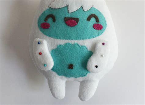 yeti plush pattern how to make a kawaii yeti monster plush softie