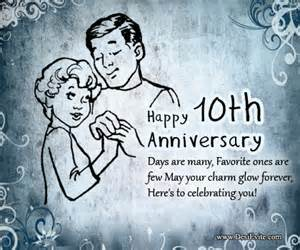 create 10th wedding anniversary ecards send