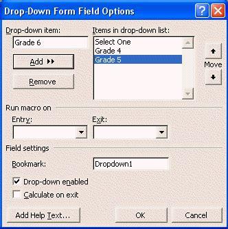 Word Vorlage Dropdown Feld Ms Word 2002 Forms