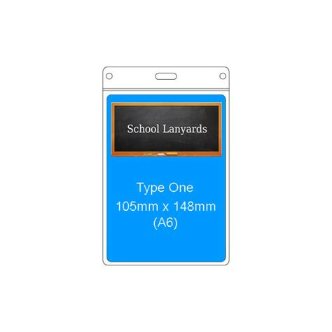 Id Card Holder Type Lanyard type 1 pvc card holder school lanyards uk
