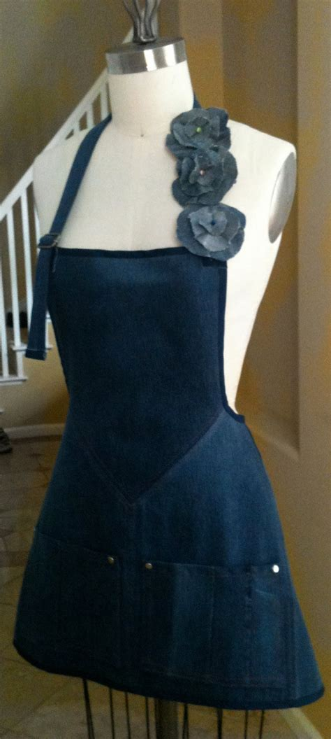 pattern for blue jean apron 205 best images about decorated denim recycled jeans on