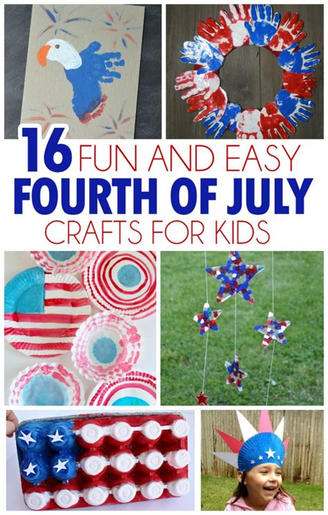 4th of july kid crafts 16 and easy fourth of july crafts for i