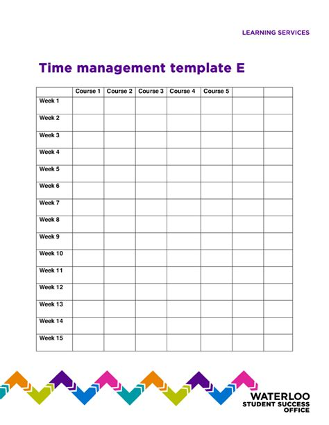 time management template time management worksheets for college students worksheets