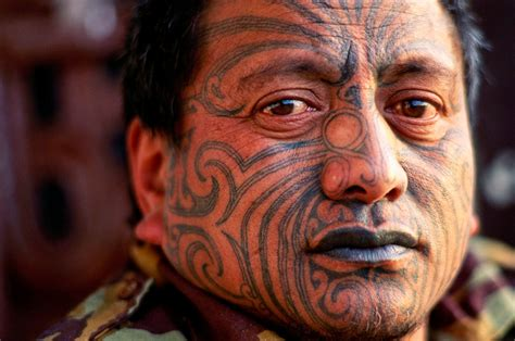 new zealand tattoos the maori sevenponds