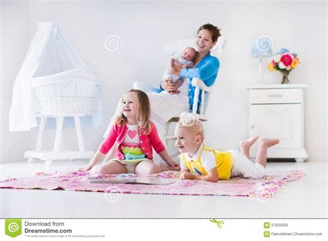 to play in the bedroom and in bedroom stock photo image