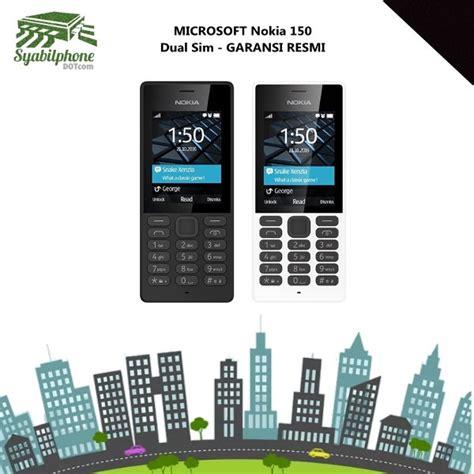 Nokia 150 Dual Sim Kamera Garansi Resmi jual microsoft nokia 150 dual sim garansi resmi di lapak syabilphone dot saungsehat335